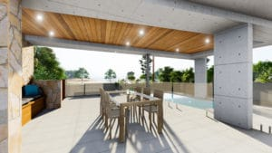 3D visualisation Alfresco New Build Taylo'rd