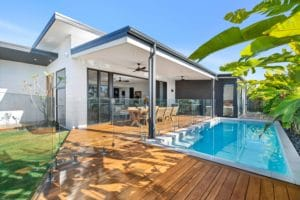 outdoor living new build taylor'd
