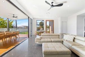 indoor outdoor living new build taylor'd