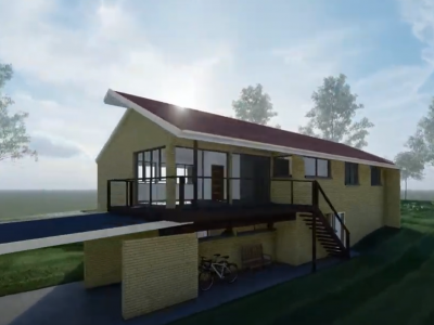 3D visualisation exterior residence taylor'd